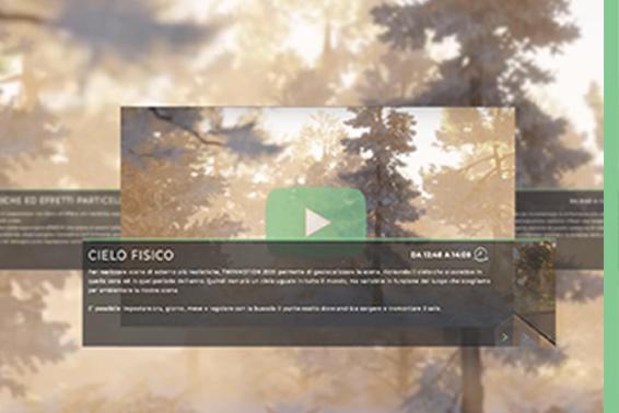 Twinmotion video per imparare render illuminazione di ambienti